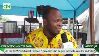 Reactions from Owerri, Imo state - Countdown 2019 Presidential Election