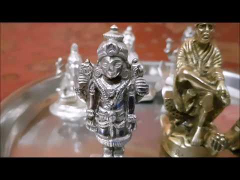Clean Silver Idols of Gods in 2 mins......