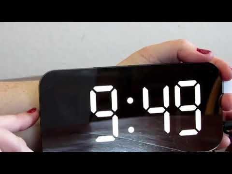 Настольные Led часы часы