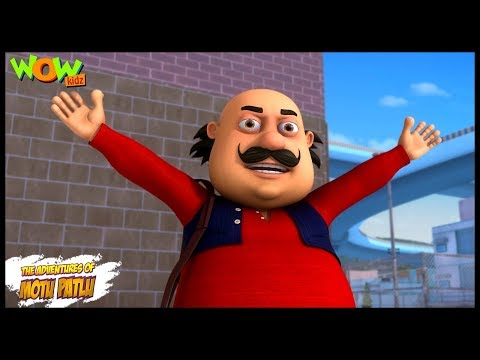 Motu Patlu New Episodes | Cartoons | Kids | Motu Patlu - Morcha | Wow Kidz thumbnail