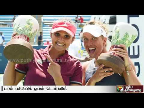 Sania Mirza-Barbora Strycova crowned women's doubles champions at Pan Pacific Open