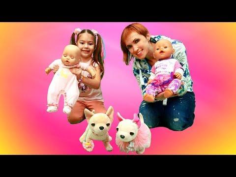 Маша Капуки Кануки знакомится с куклами Эмили