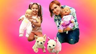 Маша Капуки и куклы Эмили. Подружки Беби Бон.