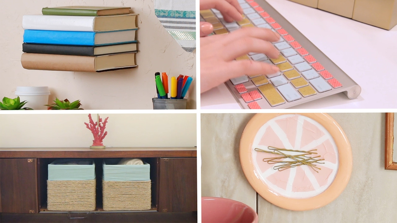11 diy projects for the dopest dorm room ever youtube