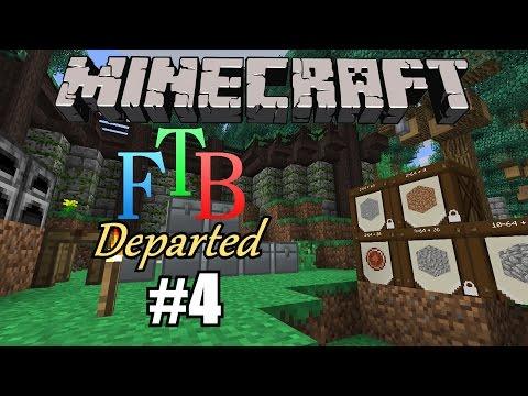 Minecraft Feed the Beast Ep.4- Base Move & Farm