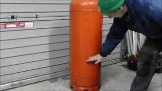 Make A Great Waste Oil And Wood Burning Stove Heater (part 1)