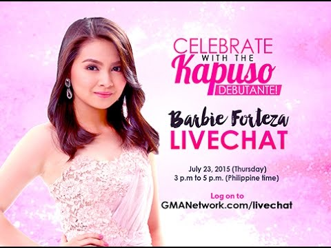 Celebrate with the Kapuso debutante, Barbie Forteza!