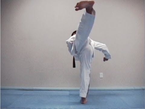 most effective kicks in tae kwon do