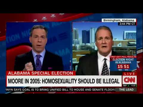 The Lead With Jake Tapper's bizarre interview with Roy Moore Spokesman Ted Crockett