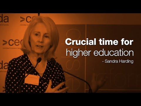 A crucial time in higher education in Australia - Prof. Sandra Harding