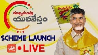 Chandrababu LIVE | Launching of Mukhyamantri YuvaNestham Scheme at Praja Vedika Undavalli | YOYO TV