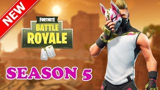 NEW Season 5 Gameplay with a NEW Skin!! | Fortnite: Battle Royale