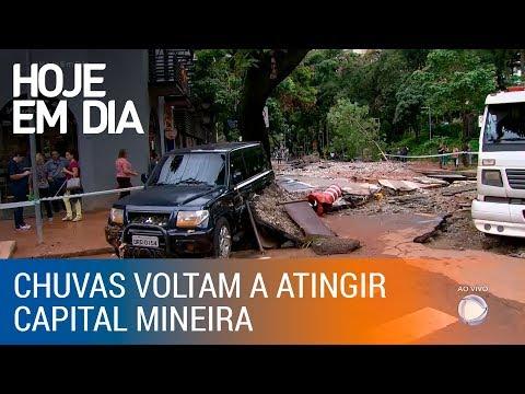 Chuva volta a provocar mortes e destruição em Belo Horizonte (MG)