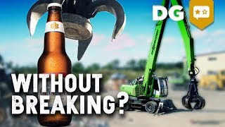 Can You Pick Up A Beer With An Excavator?