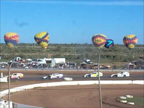 Hot Air Balloon  Practice Canyon Speedway Park 1-26-2020