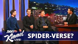 Tom Holland, Andrew Garfield \u0026 Tobey Maguire Confirms SPIDER-VERSE? | SPIDER-MAN: NO WAY HOME (2021)