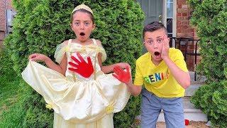 Heidi And Princess Dress Story
