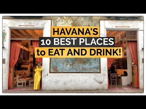 Where To Eat In Old Havana   Our Top 10 Food And Drink Recommendations For Havana Cuba