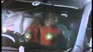 ハード破壊試験機:Crash Test Honda Accord Боковой удар о столб Impolite
