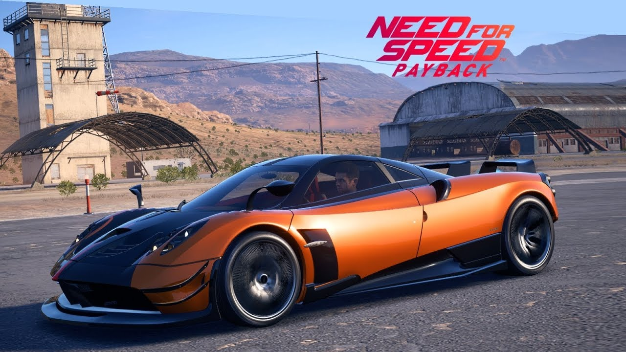 need for speed payback pagani huayra bc 1 1 million most expensive car ps4 gameplay. Black Bedroom Furniture Sets. Home Design Ideas