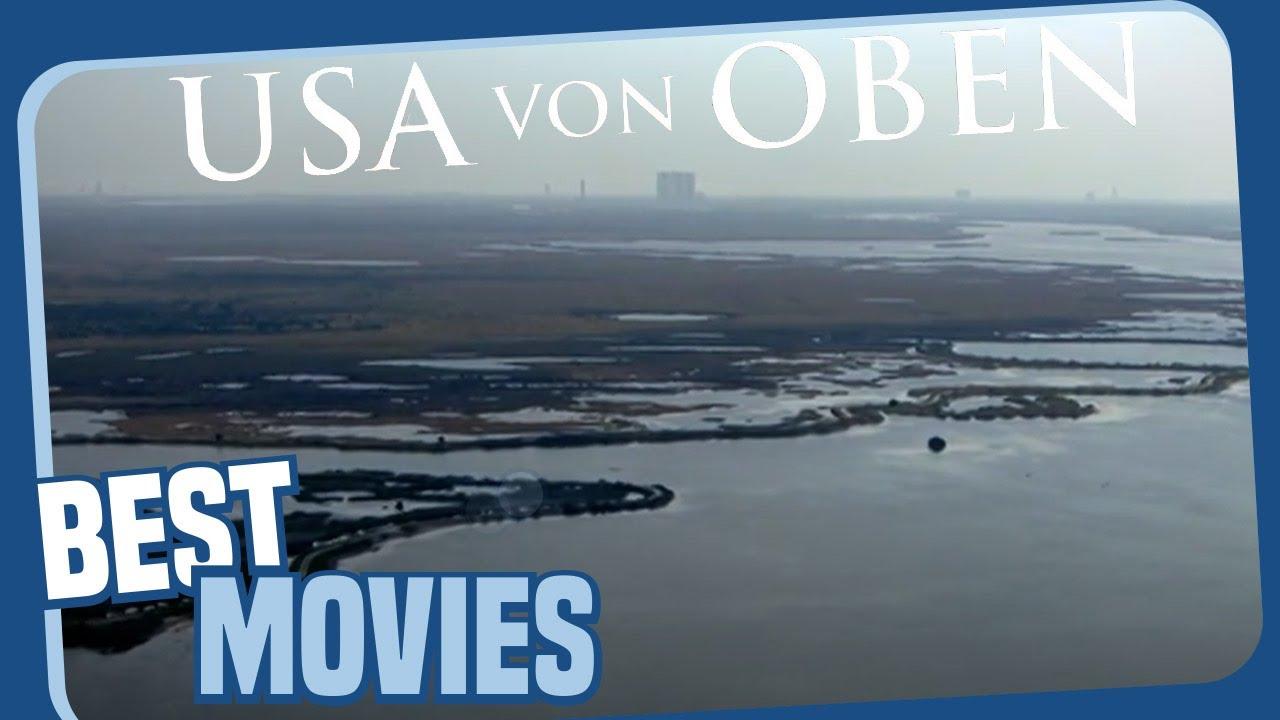 USA von oben -  Ostküste und Südküste - Dokumentation (ganzer Film auf Deutsch)
