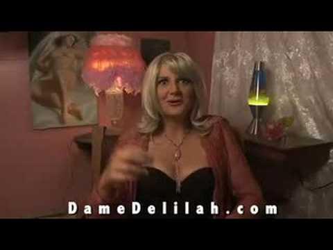 Dame Delilah duction  video blog