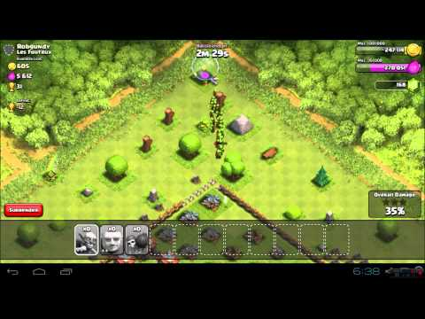 Clash of Clans | Goblin Zerg Attack For Easy Gold & Elixir