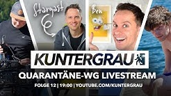 KUNTERGRAU ft. Ben @jungsfragen | Quarantäne-WG Livestream