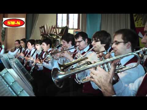 Musikverein Schwebheim 15.01.2012 SW-N.TV