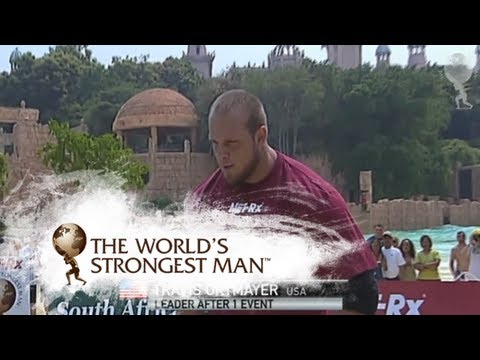2010 Keg Toss: Travis Ortmayer | World's Strongest Man