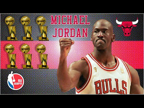 Michael Jordan's legendary NBA Finals performances with the Bulls | NBA Highlights on ESPN