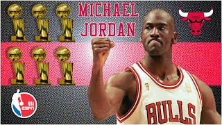 Michael Jordan's legendary NBA Finals performances...