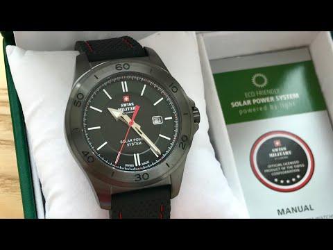 Часы на солнечной батарее Swiss Military By Chrono SMS34074.07, сравнение с часами SMS34073.04