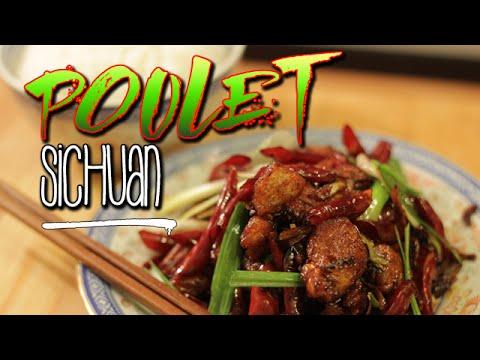 Poulet Sichuan - Le riz Jaune