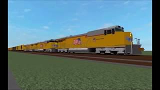 RobLOX Railfanning Treni Mainline 2