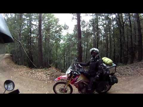 Hwy 1 with Steph Jeavons KLR650 CRF250