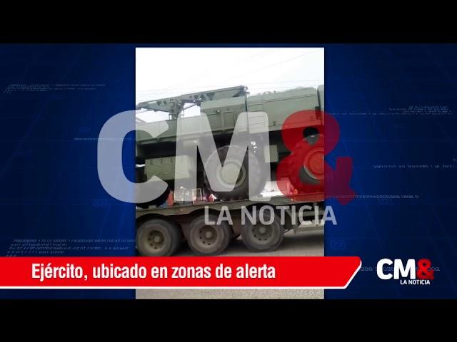 Extrañamente, Venezuela moviliza armas a la frontera