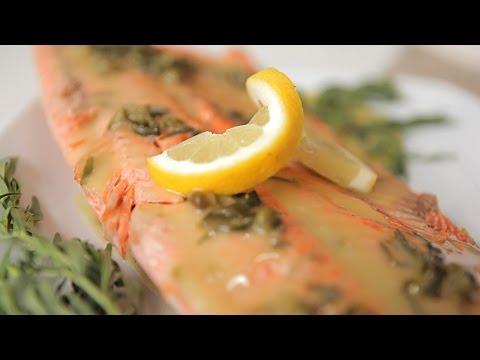 Salmon Baked In A Salt Crust