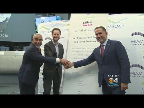 Art Basel, Miami Beach Make 5-Year Deal Official