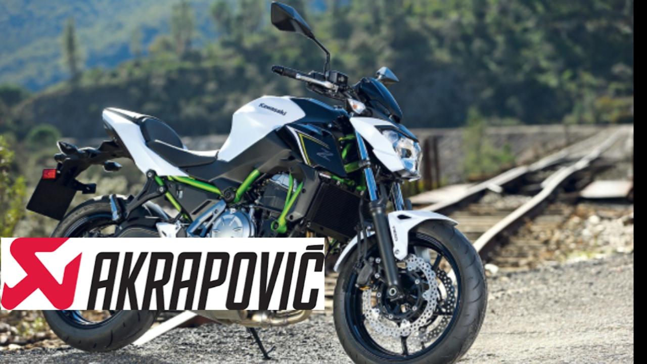 Kawasaki Z650 Exhuast Akrapovic