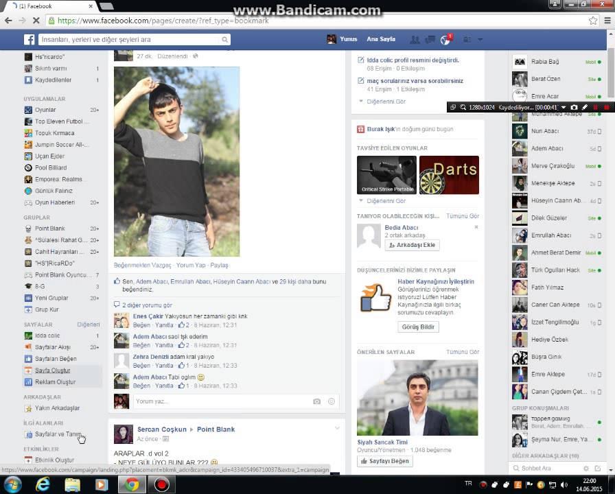facebook da nasıl sayfa oluşturulur