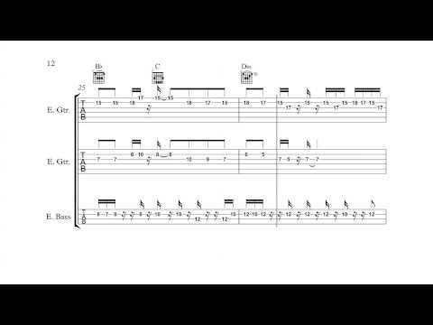 Mega Man 3 (NES) - Hard Man - Guitar/Bass Tabs + Chords