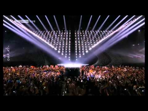 Eurovision Song Contest 2015 Grand Opening Building Bridges Song Left Boy Conchita Wurst