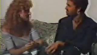 ????GEORGE MICHAEL INTERVIEW FAITH TOUR MADRID 1/07/1989