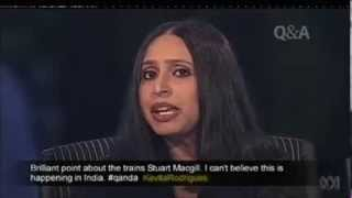 Discussion on Narendra Modi on Q & A Australian TV show - MUST WATCH !!!!