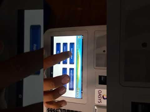 Oasys machine billing process