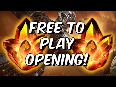 Double 4 Star + Premium Crystal Opening! - Free To Play - Marvel Contest Of Champions