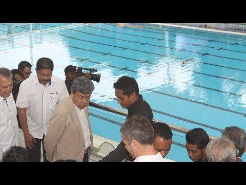 Sultan of Selangor visits KL Sports City