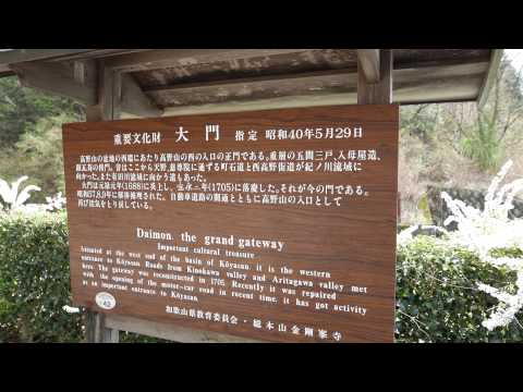 【UNESCO World Heritage】Koyasan Shingon Buddhism Kongobuji explained  高野山 大門
