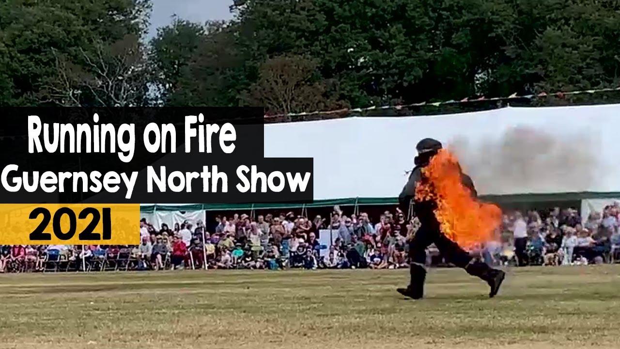 Stannage Stunt Show | Running on Fire